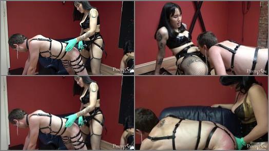 Berlin – Mistress Fei and Mistress Amandara starring in video 'Cute Filthy Whore' of 'Merciless Dominas' studio