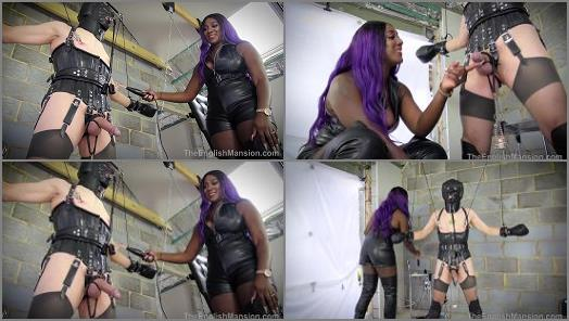 Mistress Lorraine starring in video Predicament Bondage Games  Part 1 of The English Mansion studio preview