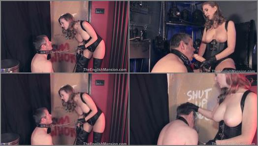Mistress T starring in video Gloryhole Trainer  Complete Movie of The English Mansion studio preview