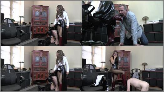 Rainboot Licking In Lunchtime of Absolute Femdom studio preview