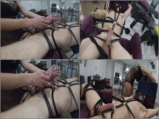 Sex Slave Buffett  Bound Tortured Edged and Cum Shot preview