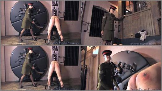 The Hunteress starring in video Military Exercise  Complete Film of Femme Fatale Films studio preview