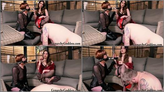 Stilettos – Goddess Gynarchy and Baroness Serena starring in video 'Amusing the Baroness'
