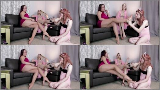 Goddess Sapphire Kelly Sunshine starring in video Brainwashed and Blackmailed by Feet preview