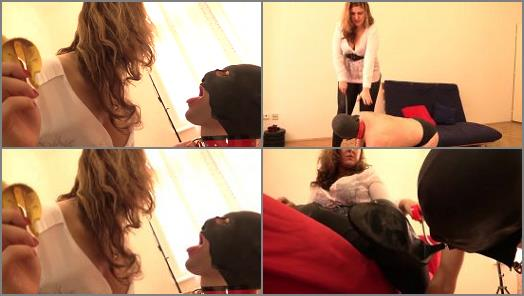 Kinky Lucrecia starring in video Feeding and Boot Worship preview