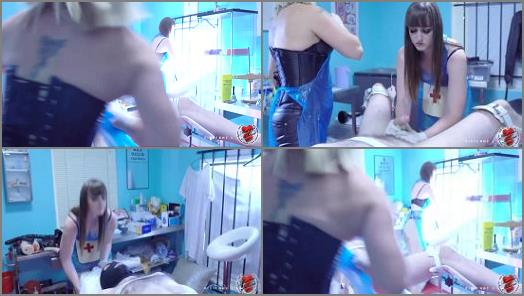 Mistress Athena starring in video Not 1 but 2 Nurses watch in anticipation as to what happens preview