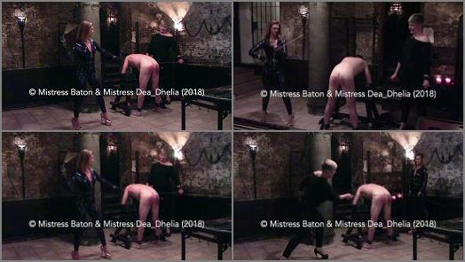 Download - Mistress Baton starring in video 'A Hard Caning'