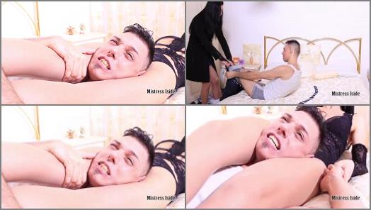 Mistress Iside starring in video HARD SCISSORS IN THE BEDROOM preview