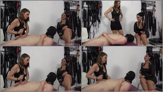 Chastity - Mistress Sarah and Goddess Ezada starring in video 'Your last cum'