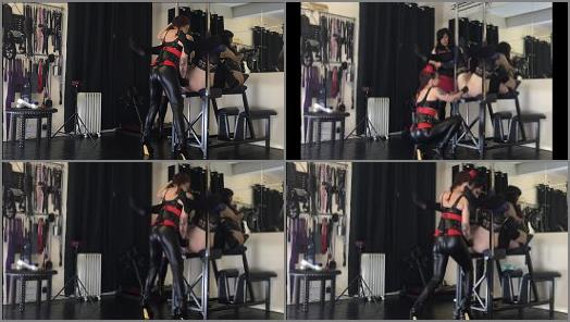 Mistress Taylor fills Kinky Stephs gaping hole with The Centaur preview