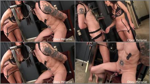 Obey Melanie starring in video Small Penis in Training preview