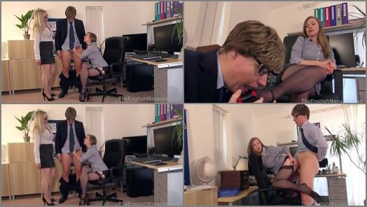 Miss Eve Harper and Mistress T starring in video Bosses Bitch Boy  Complete Movie of The English Mansion studio preview