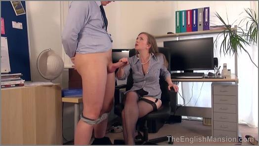 Miss Eve Harper 2021 - Miss Eve Harper and Mistress T starring in video 'Bosses Bitch Boy – Part 3' of 'The English Mansion' studio