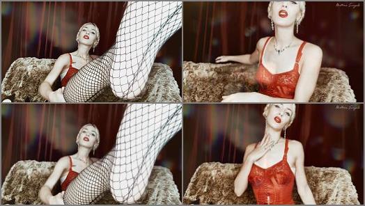 Joi – Mistress Euryale starring in video 'Corset Goddess Body Worship'