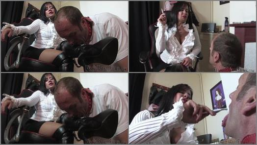 Mistress Real starring in video Human Ashtray  Super HD of Femme Fatale Films studio preview