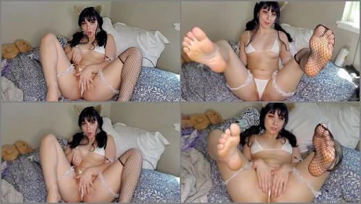 Neko Nymphe starring in video Neko plays with her kitten tease preview