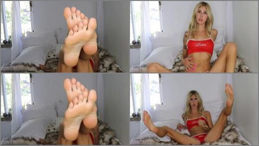 Princess Chelsea starring in video Cum to my feet preview