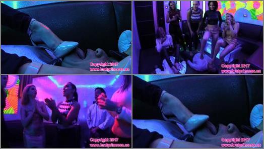 High heels sucking – Brat Princess 2 – Princess Alexa, Princess Amadahy, Princess Kendall, Princess Lola, Princess Sasha Foxx – Brat Princess Epic Night Out part 2