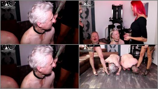 Cherie Noir starring in video humiliation course Lady Anni learns to torture slaves preview