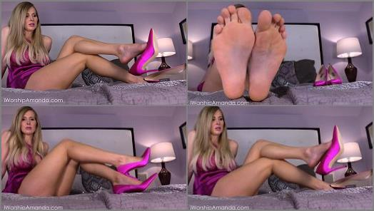 Toes – Goddess Amanda – Spend on My Flawless Feet