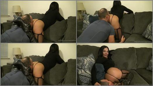 Goddess Zephy starring in video Lick my Asshole slave preview