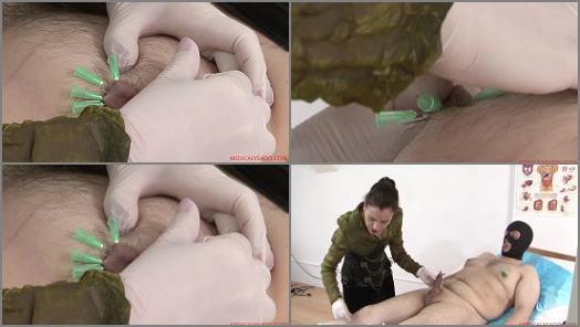 Bdsm – Medicaly Sado – Needles On Nipples for Lady Patricia