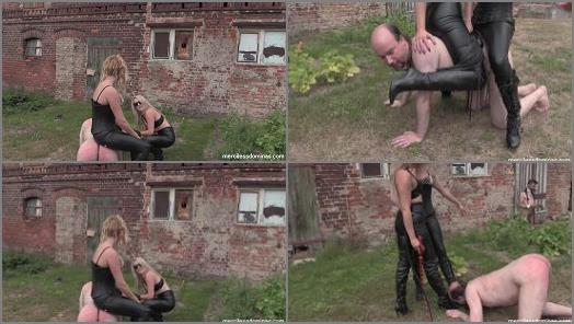 Pain – Merciless Dominas online, Miss Maxwell, Miss Courtney, Outdoor English Lesson
