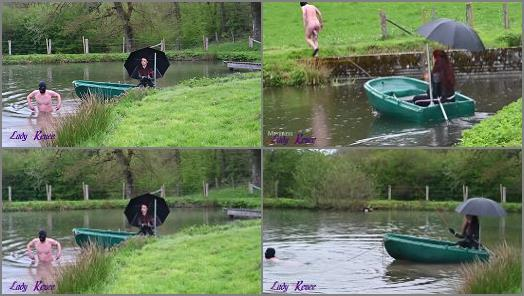 Mistress Lady Renee  The romantic boat ride preview