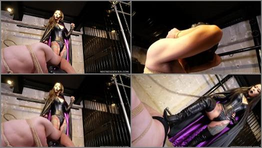 Whipping Fantasy Asian Domination – Mistress Youko starring in video 'The Villainess with a Black Cloak III'
