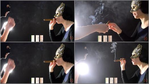Smoke Fetish –   'My first Cohiba cigar' of 'Smoking Mania' studio
