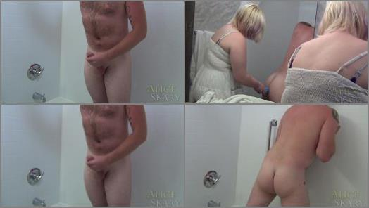 Chubby – Alice Skary – Merciless Anal Douche Until Prolapse