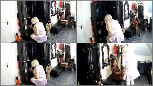 Femdom Stream – Ava Von Medisin – Sissy Maid Milly Gets Her Punishment For Her Naughty Mistake