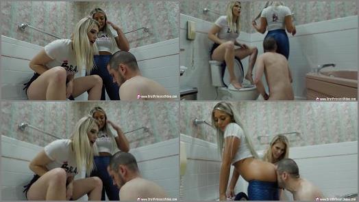 Ass Worship – Brat Princess 2 – Amber and Ava – Extreme Beta Toilet Humiliation