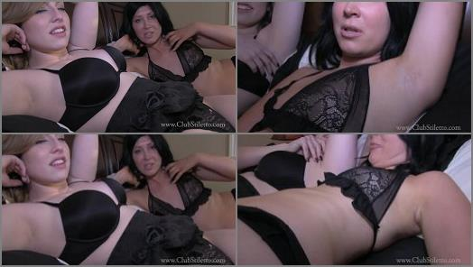 Armpits – Club Stiletto FemDom – It's HOT and Our Pits stink, lick Them Clean –  Goddess Mia and Princess Lily