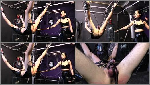 Cybill Troy FemDom AntiSex League  Sentenced to Chastity Hell Part 2 CANING preview