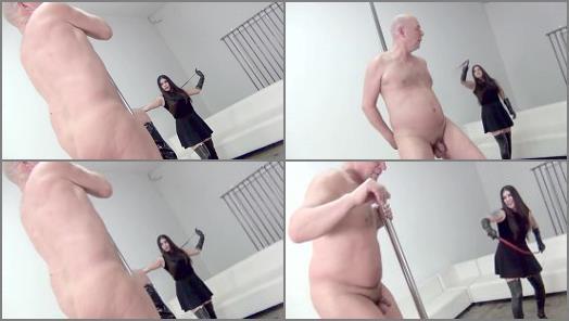 DomNation  Strip To The Crack Of My Bullwhip Slave   Mistress Eva Cruz preview