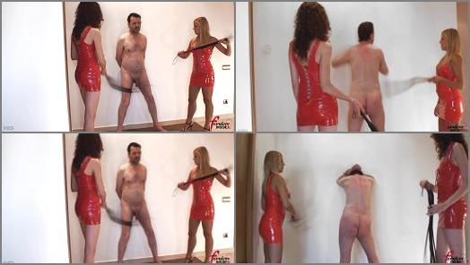 Femdom Insider MP4  Double Whipping in Red   Miss Lesly and Lady Mary preview