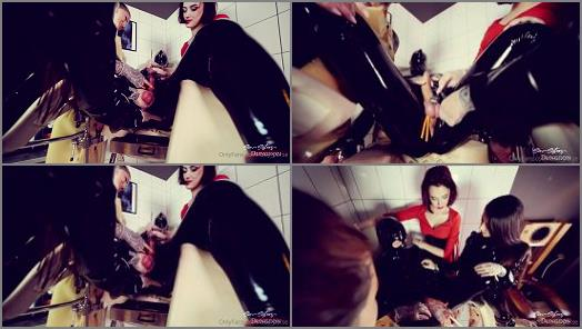 Femdom Tube – Lady Perse – Cruel sounding by 3 mistresses