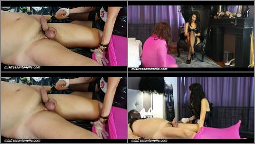K2s – Mistress Antonella starring in video 'Eggs torture with Needles'