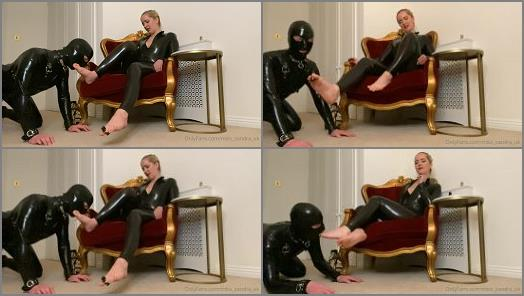 Toe Sucking – Mistress Sandra starring in femdom clip 'Sniff And Worship'