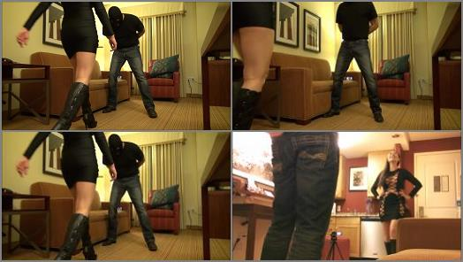 Ballbusting – NYSSA NEVERS Always Naughty – THESE BOOTS WERE MADE FOR BUSTING