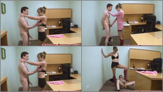 Skirt – Suburban Sensations Ballbusting – Jessica Shows Him a Reward