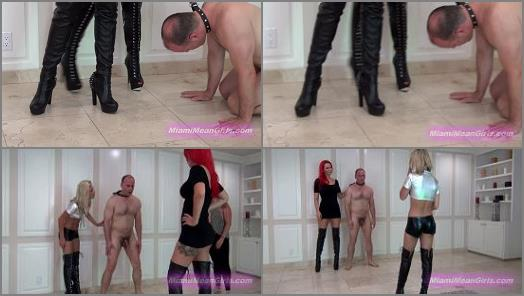Amazons – American Mean Girls – Aww Kicked In The Nuts Again –  Princess Cindi and Goddess Harley