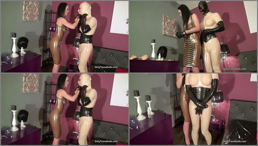 Watched – Dirty Trans Dolls – From boy to rubber toy – Part 2 –  Fetish Liza