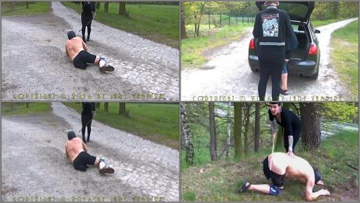 Classic Caning – Lady Vampira – Bullying a disabled man