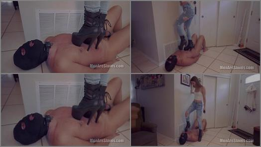 Ballshocker – Men Are Slaves – You Deserve To Be Abused –  Princess Honey