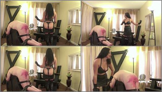 Female Domination – Mistress Michelle Lacy Owns Me – Cane Punishment