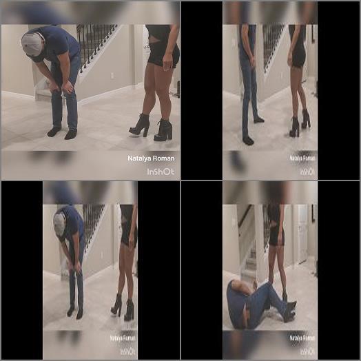 Female Domination – Natalya Roman Ballbusting – A good time for kicks