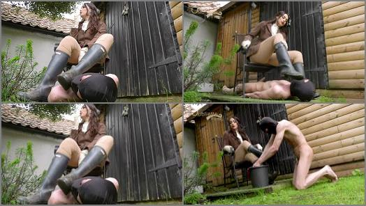 Boot Fetish – Oubliette – Dirty Boot Licker –  Goddess Serena
