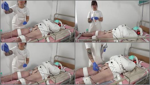 Femdom – Private Patient – Straitjacket and Segufix – Part 3 –  Dr. Eve